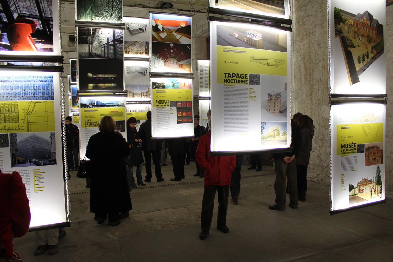 maison de l'architecture de savoie | vernissage exposition kama sutra 2011