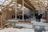 maison de l'architecture de savoie   visite de chantier la maison du lac d' aiguebelette