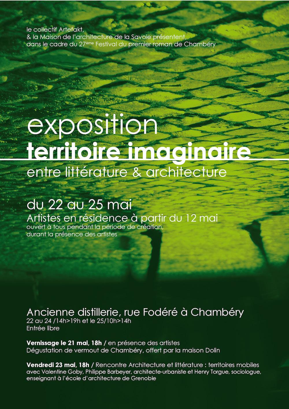 maison de l'architecture de savoie - exposition entre littérature & architecture