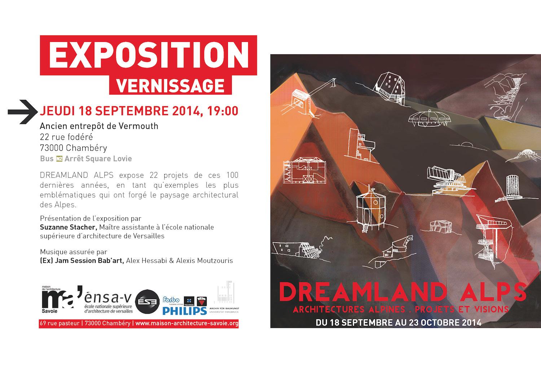 maison architecture savoie - exposition dreamland alps