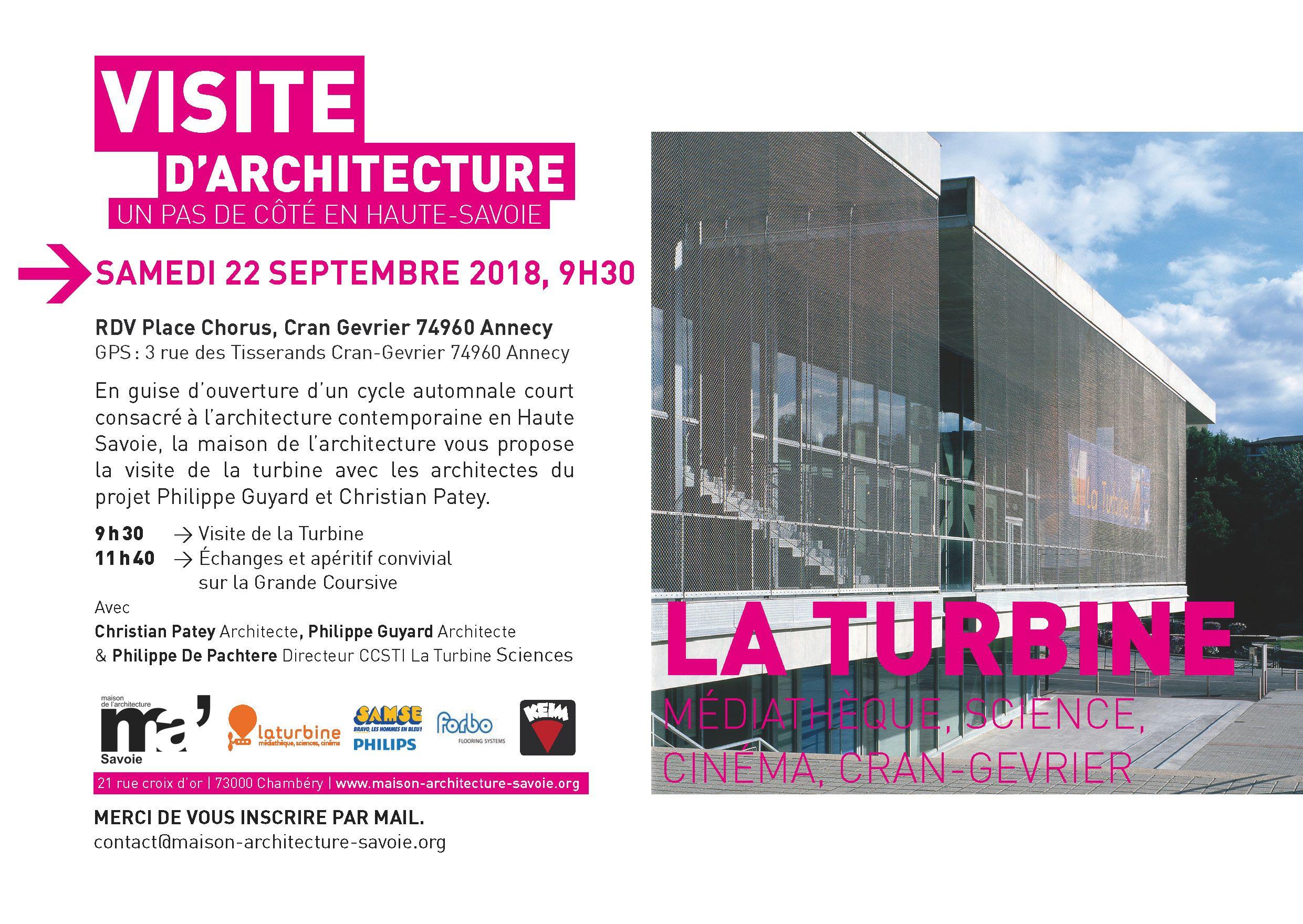 maison de l'architecture de savoie | expositions, visites, cinéma d